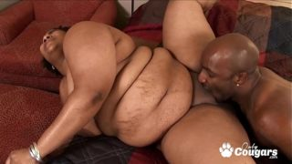 Chubby Has Her Huge BBW Pussy Eaten Out