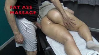 Huge Booty Lewd Massage in Spy Cam Spanking Finger Fucking Gushing