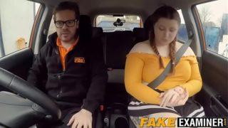 English Fat Rides Her Driving Instructors Big BBW Dick