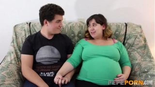 Small Dicked Male Loves Banging Her Preggo Bbw Girlfriend!!!