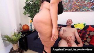 Spanish Sucking Lessons With Angelina Castro Sofia Rose!