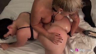 A Prank on Maria Ends Up in a Sexy Anal Threesome With Fede's Big Cock and Ultimate Milf Alexa