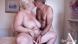 Agedlove Mature With Huge Boobs Got Harsh Fuck
