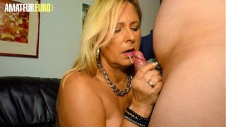 Amateur Euro – Classy Gilf Mom Kiki R. Knows to Take Care of Her Precious Hubby