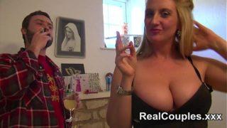 Любителски анален гърди домакиня от Великобритания