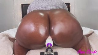 Fat Breaking in the New Toy With Tight Pussy!!!