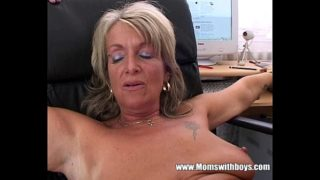 Blonde Milf Office Chief Anal Fucked By Applicant