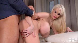 Busty Babe Sandra Star Handcuffs Boyfriend Gets Her Big Boobs Fucked Rough