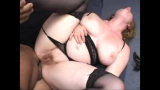 Big Beautiful Woman Ginger Fucked in the Ass Wearing a Thong