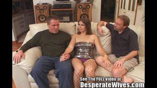 Dana soddisfa la sua puttana moglie Mfm Three Way Fantasy W Sol; sporco D