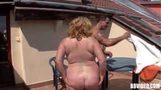 BBW Mature Deutsche Slut Sex Outdoors
