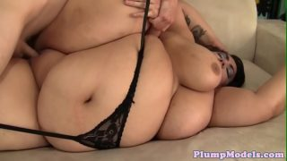 Charming Fatty With Massivetits Gets Fucked