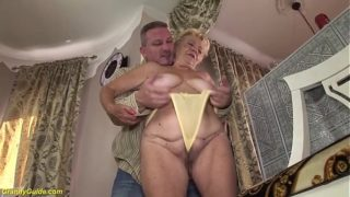 Hairy 89 Years Old Grandma Hard Fucked