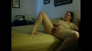 Sexy Mum Busted Masturbating on Bed By Hidden Cam