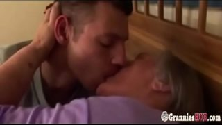 Old Curvy Granny With Large Breasts Still Loves Fuck