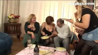 Group Sex for a Group of Milf Sluts!