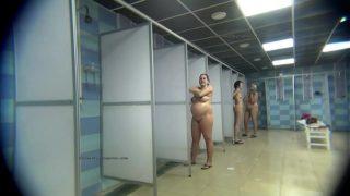 Openbare doucheruimtes Verborgen webcam