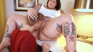 Bossy Chubby Sugarbooty With Big Ass Has Her Way With Her Huge Cock Intern Steve Rickz!