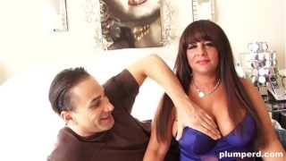 BBW Stepmother Plays With Her Boobs and Fucks Fit Guy