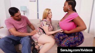 Η Pawg Mommy Sara Jay Milks a Cock With Black Chubby Maserati!